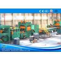 China PLC Control Cut To Length Machine , Steel Coil Cutting Machine With Adjustable Speed wholesale