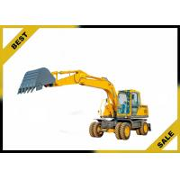China 1.9m³ 13175kg Earth Excavation Equipments , Heavy Equipment Excavator Customized Color wholesale