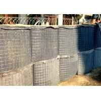 China Zinc Aluminum Alloy Military Hesco Barriers Hesco Defense Wall Welded Mesh wholesale
