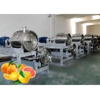 China Custom Citrus Juice Fruit Processing Line SUS304 Stainless Steel Material wholesale