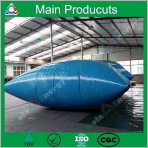 China 1m3 - 10m3 Pillow/ Onion/ Inflatable Type Water Storage Tank Soft Tarpaulin Water Tank on sale