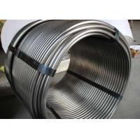 China Fluid Transport System Precision Coil Tubing / Metal Pipe Coil 0.5 - 1.0mm WT wholesale