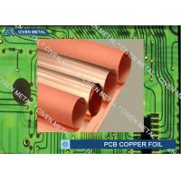 China Roll Size S - HTE Electrolytic Copper Foil For PCB  Made Of Red Copper wholesale