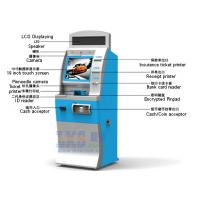 China License-based Air Tickets Vending Machine LED Displaying On The Top on sale