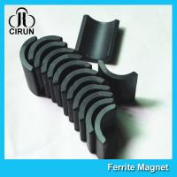 China Small Permanent Arc Segment Ferrite Magnet Y25-Y35 For Motorcyceles Motor wholesale