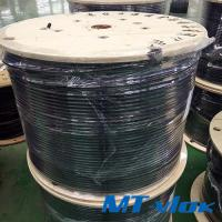 China TP304 / 304L Welded Stainless Steel Coiled Tubing For Multi - Core Tube wholesale