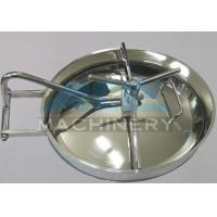 Quality Good Quality Sanitary Stainless Steel Manhole Cover Stainless Steel Sanitary for sale