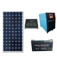 China LEDs Solar 5000W solar power generation system 2000W solar panel input with air conditioning pump motor, power supply on sale