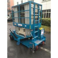 Quality 14m Multi Mast Electric Lift Platform , Hydraulic One Man Lift With 200kg Load for sale