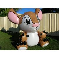 China Cartoon 0.2mm PVC Inflatable Products Giant Lovely Inflatable Stitch wholesale