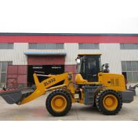 China Hydraulic loog boom construction wheel loader with cummins engine on sale