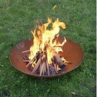 China high quality fire pit outdoor fire pit garden fire bowl 100 cm diameter on sale
