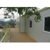 China Temporary Office Prefab Container House With 15mm Plywood Floor on sale