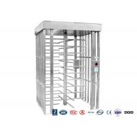 China Deluxe Automatic Full height Turnstile  Pedestrian System Parking Facilities Rotating Gates wholesale