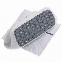 China Wireless Messenger Keyboard Chatpad for Microsoft's Xbox 360, Durable to Use, Sized 14.2 x 5.1cm on sale