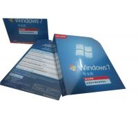 China Oem Windows7 Professional 64bit , Full Version Microsoft Windows 7 Pro Box wholesale