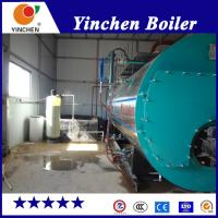 China Fire Tube Gas Fired Hot Water Boiler , High Efficiency Gas Steam Boiler on sale