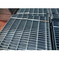 China Hot Dip Galvanized Press Lock Steel Grating For Prevent Slippery Drainage Catwalk wholesale