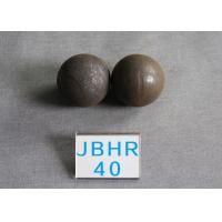 Quality High Hardness 62-63HRC Grinding Medium Steel Balls for Ball Mill , Grinding for sale