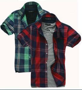 China Cotton Checked Shirt (LC138) wholesale
