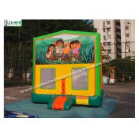 Quality Commercial Dora Module Inflatable Bounce Houses High Durability for sale