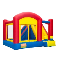 China Amusement Park Inflatable Jumping Castle Water Slide wholesale