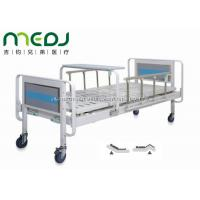 China Home Care Manual Hospital Bed MJSD06-04 With Aluminum Alloy Side Rail wholesale
