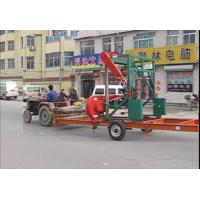 Buy cheap hot sales!!! MJ1000 wood cutting planks horizontal band saw mobile sawmill product