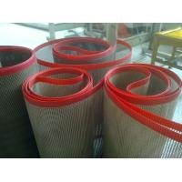 Softness Ptfe Mesh Conveyor Belt teflen Conveyor Belt With ISO / SGS Certificate
