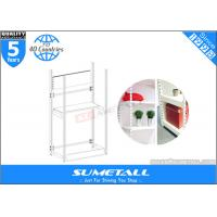Buy cheap 4 Post Metal Storage Furniture Shelves / Warehouse Store Display Stands Customized product