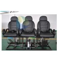 China Strong simulation and electric shock Motion Theater Chair  with pneumatic system supplier wholesale