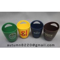 China fashion colorful plastic ice bucket wholesale