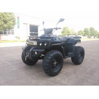China 3KW 72V Motor Electric Utility ATV 4x4 Wheels With Shaft Drive , Black wholesale