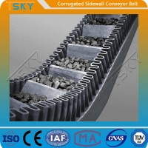 China B1400 Corrugated Sidewall Rubber Conveyor Belt wholesale
