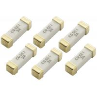 China Lighting System 10.1x3.1x3.1 mm Surface Mount Device Ceramic Slow Blow Fuse 1032 250V 3A SEI 003 With Gold Plated on sale