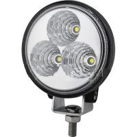 China Round Shape Led Work Lamp , CE ROHS Listed Waterproof Truck Work Lights wholesale