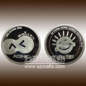 China High quality of 2013 HongKong comics festive commemorative coin wholesale