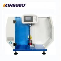Buy cheap 560* 300* 840mm Size Digital Display Charpy And Izod Impact Strength Test Equipment with LCD Touch for Plastic from wholesalers
