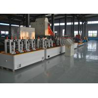 China Fully Automatical Precision Erw Tube Mill , High Speed MS Pipe Making Machinery wholesale