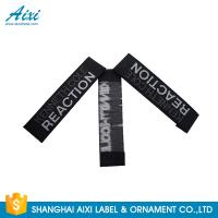 China Good Feeling - Touch Custom Printed Clothing Labels , Soft Woven Garment Labels wholesale