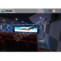 China Attractive 5D Theater System 4DOF Motion Chairs With Special Effect wholesale