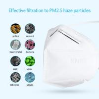 China FDA/CE certificated PM2.5 Dustproof Protective KN95 Face Mask, Anti Dust Bacterial 4-Layer KN95 Masks wholesale