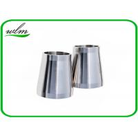 China Stain Finishing Eccentric Reducer Pipe Fitting For SS Sanitary Pipe Fittings wholesale