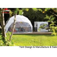 Buy cheap Transparent Pvc Glamping Geodesic Dome House For Exhibition / Camping from wholesalers