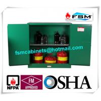Quality Flame Proof Hazardous Material Storage Containers 30 Gallon For Pesticide / Gas for sale