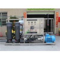 China Filter Brackish Water Treatment Systems / Industrial Ro Water Purifier Plant on sale