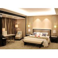 China Veneer And Marble Five Star Hotel Furniture , King Size Hotel Style Bedroom Furniture wholesale