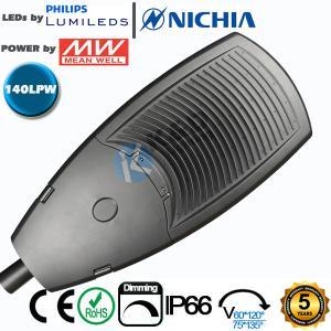 China 5 Years Warranty 240W LED Street Light 36600lm 140LPW Efficiency 894mm Length wholesale