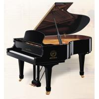China 158cm Black Polished Orient Design Baby Acoustic Grand Piano With Stool AG-GP158 wholesale