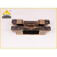 China 3D Invisible Hinges Exterior Door Three Way Hinge , Hidden Hinges For Cabinets on sale